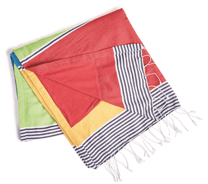 Canton Striped Cabana Towel Beach