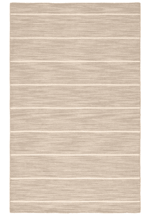 Cape Cod Striped Wool Rug - Natural