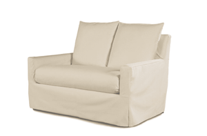 Captiva Outdoor Slipcovered Love Seat