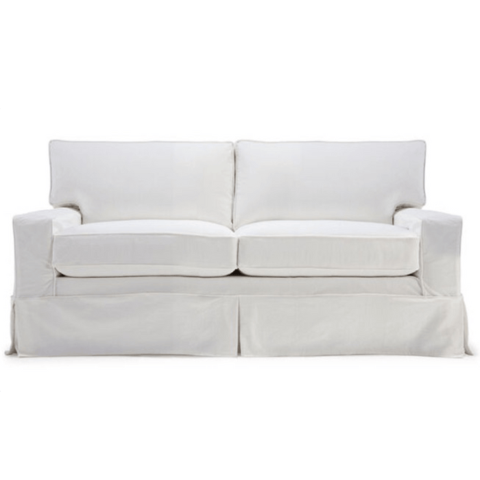 "Carmel 71"" Slipcovered Full Sleeper Sofa"