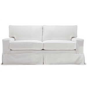 "Carmel 57"" Studio Slipcovered Sofa Slipcovered Sofa"