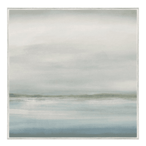 "Coastline II 49"" Framed Giclee Art"
