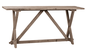 Petway Pine Console Table Console