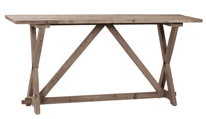Petway Pine Console Table