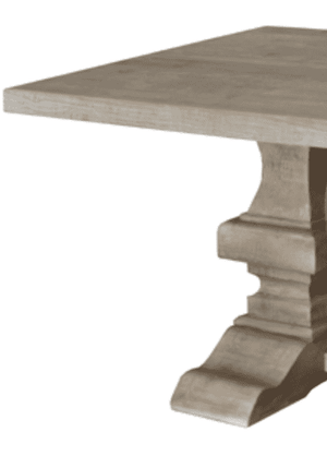 Point Harbor Grey Wash Dining Table Dining Table