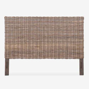 "Driftwood Rattan Headboard - Three Sizes Headboard King 80"" x 2"" x 54"""