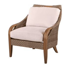 Eastern Shores Woven & Teak Outdoor Chair