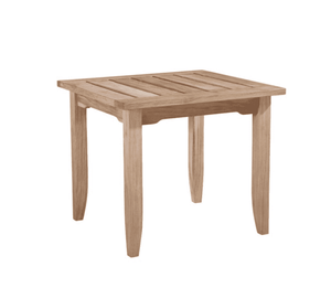 Eastern Shores Square Teak Side Table