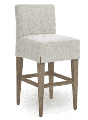 Freeport Slipcovered Bar Chair - Counter or Bar Height