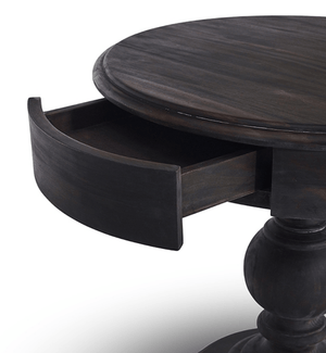 Hempsted Rustic Side Table Side Table