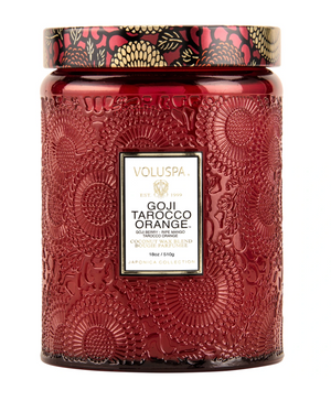 Goji Tarocco Orange Large 18oz. Jar Candle