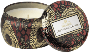 Goji Torocco Orange 4 oz. Petite Tin Candle