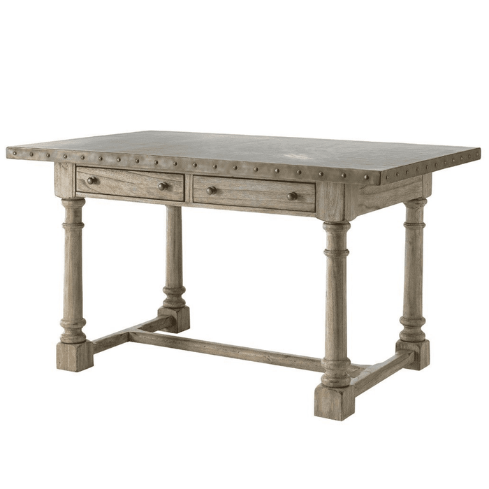 "Hampton Gray Driftwood 66"" Dining Table"
