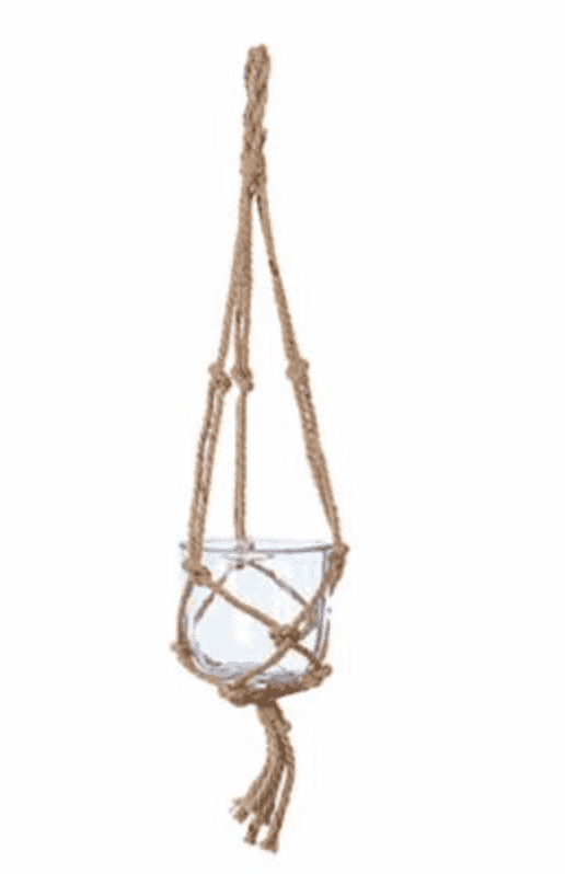 Suraba Glass Hanging Planter - Two Sizes