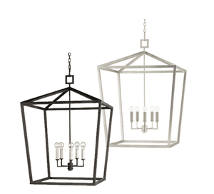 Haverhill Wrought Iron Lantern - Five Sizes & Two Finishes Lantern