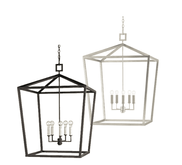 Haverhill Wrought Iron Lantern - Five Sizes & Two Finishes