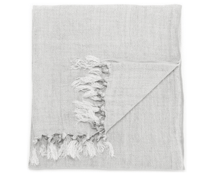 Maui Linen Throw - Heather Throw