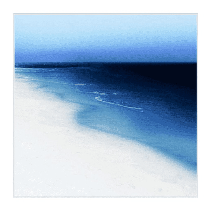 "Into the Deep Blue - 48"" Framed Giclee"