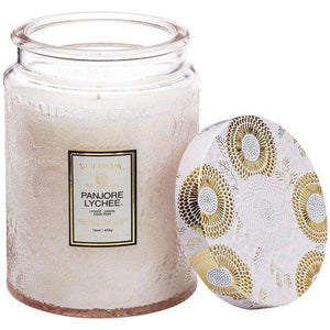 Panjore Lychee Large 18oz. Jar Candle Candle