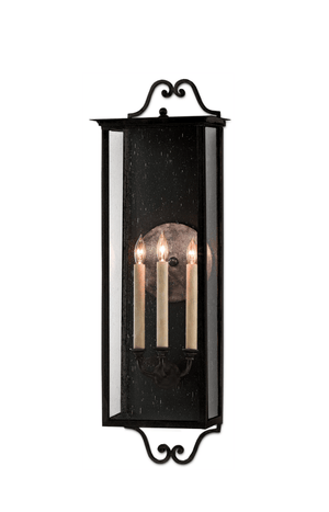 Glastonbury Outdoor Wall Sconce - Three Sizes Outdoor Lighting Large