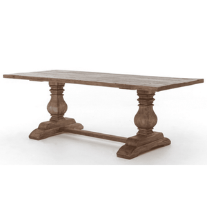 "Lewisburg Trestle Dining Table - 87"" or 110"" Dining Table"