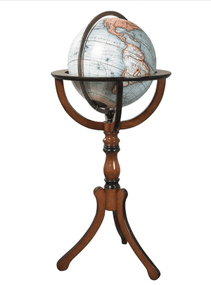 Library Globe on Tall Stand Home Office