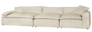 Lounge 3-Piece Sectional Slipcovered Sectional