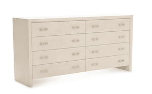 "Malibu 68"" Eight-Drawer Dresser/Chest Dresser"