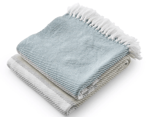 Allgash Cotton Throw (3 colorways) Throw Matka/Oyster/Dove Gray