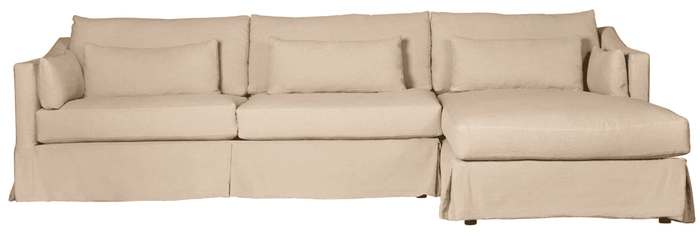 Maui 2-Piece Slipcovered Sectional