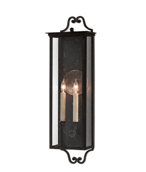 Glastonbury Outdoor Wall Sconce - Three Sizes Outdoor Lighting Medium
