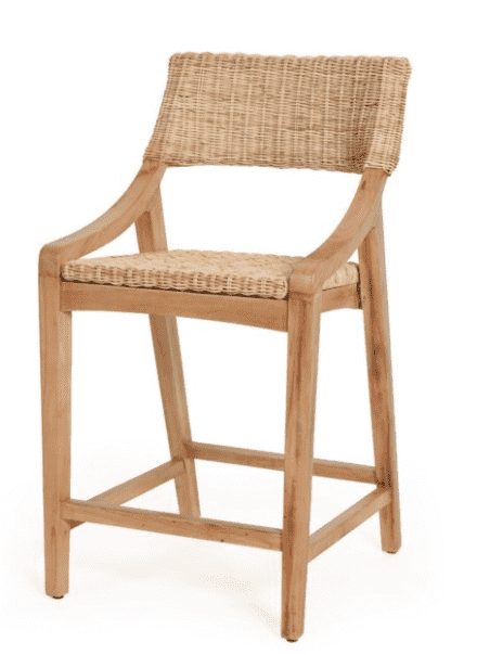 Metropolitan Natural Counter Stool