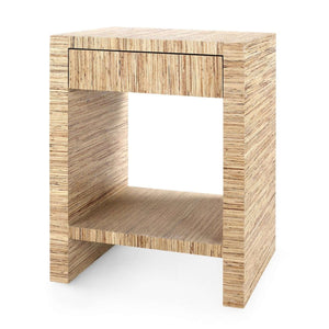 Montecito 1-Drawer Side Table - Natural Side Table