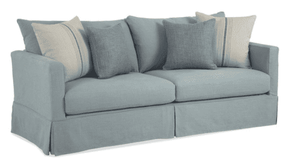 "Morada Bay 100"" Slipcovered Grande Long Sofa"