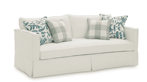 "Morada Bay 78"" Slipcovered Sofa"