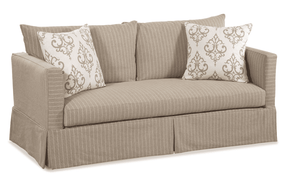"Morada Bay 70"" Slipcovered Studio Sofa"