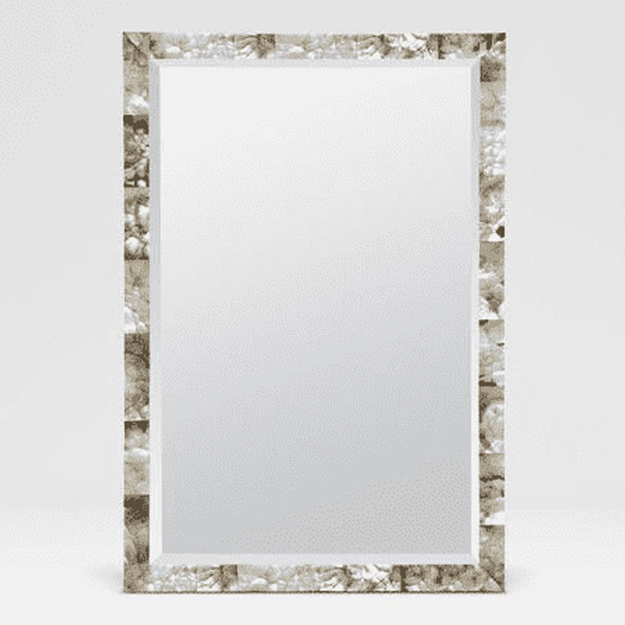 Large Mother of Pearl Shell Mirror
