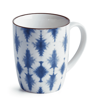 Batari Indigo Mugs Set of 6 Tabletop
