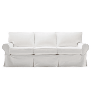 "Nantucket II 83"" Slipcovered Sofa 3/3"