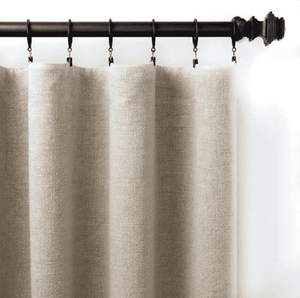 Stone Washed Textured Linen Panels - Three Colors & Sizes Window Treatment