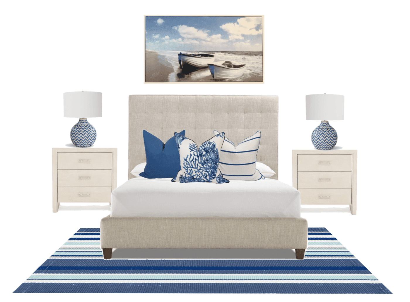 Master Bedroom Furniture Package - Navy – Our Boat House