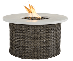 "Fire Pit 42"" Cocktail Table Fire"