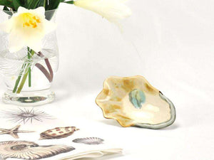 Oyster Shell Dip Bowl - Handmade Entertaining