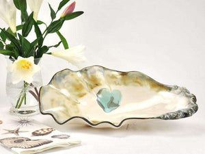 Oyster Shell Bowl - Medium Entertaining