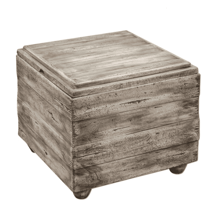 "Paris 23"" Side Table/ Storage Cube"