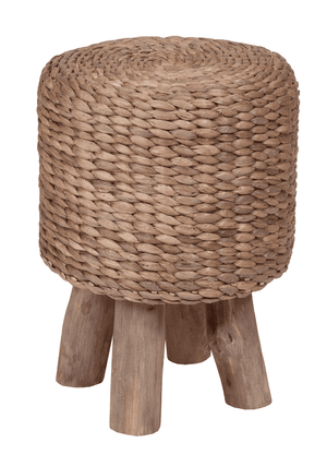 Pepe Water Hyacinth Stool Stool