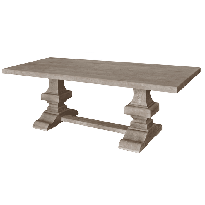 Point Harbor Grey Wash Dining Table