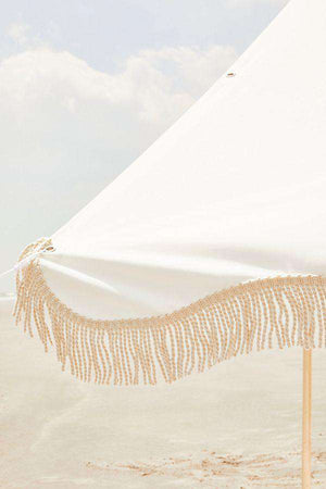 The Premium Beach Tent - Antique White Beach