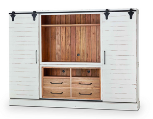 Raleigh Entertainment Cabinet with sliding Doors