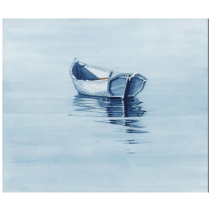 Rowboat Horizon Giclee Art